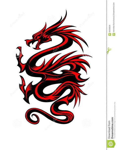 red dragon tattoo ideas  pinterest dragon
