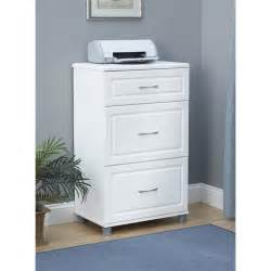 3 drawer storage cabinet in white aquaseal 7368401pcom