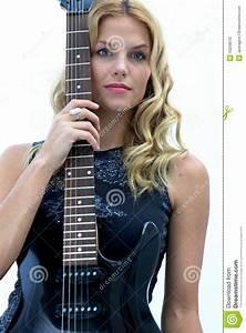 Female Rock Star Stock Photo - Image: 10258510