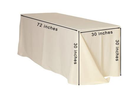 tablecloth for 8 foot rectangular table how to choose tablecloths understanding correct