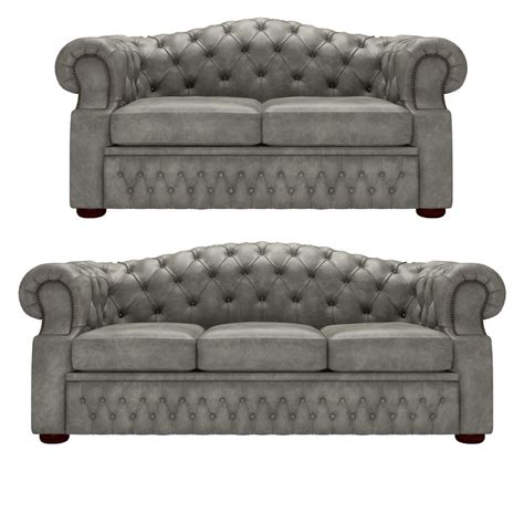 3 Seater Settees by Oxford 3 Seater And 2 Seater Settees Etna Grey From