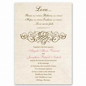 rustic love wedding invitation christian wedding invites With free printable christian wedding invitations