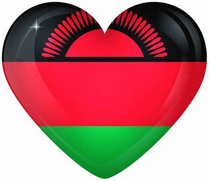 Malawi Flag Heart Flags National Transparent Yopriceville