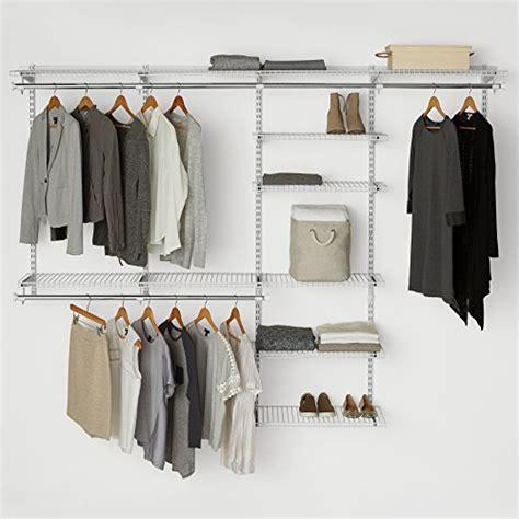 rubbermaid configurations custom closet deluxe kit white