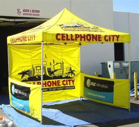 ez  pop  advertising tents florida ad balloons