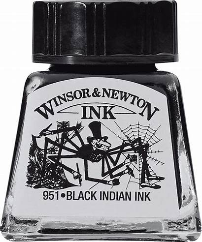 Newton Winsor Ink Indian Drawing Inchiostro 14ml