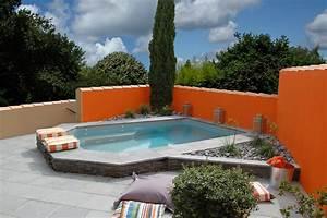 Mini Piscine Enterrée : piscine enterr e en b ton sur mesure caron piscines ~ Preciouscoupons.com Idées de Décoration