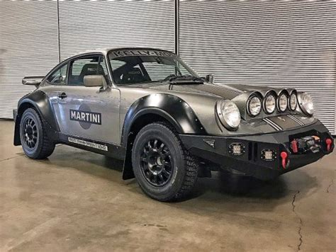 heres  jacked  porsche  rally car   dreams