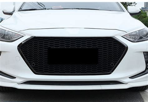 Black High Quality Car Front Grill Grille Fit For Hyundai