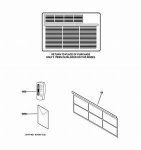 Ge Asw12als1 Room Air Conditioner Parts