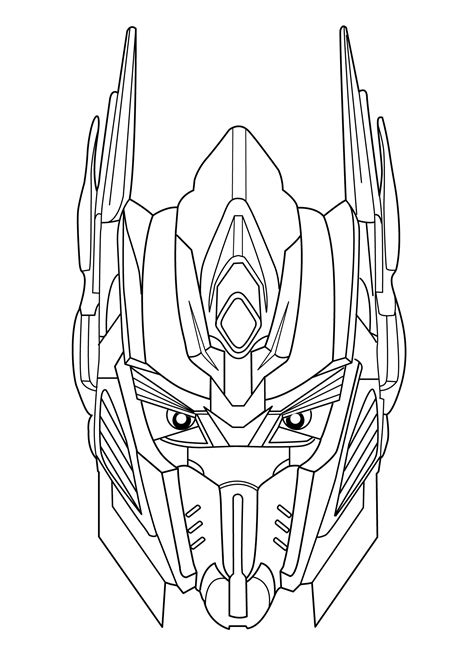 transformers coloring pages  kids  printable fun