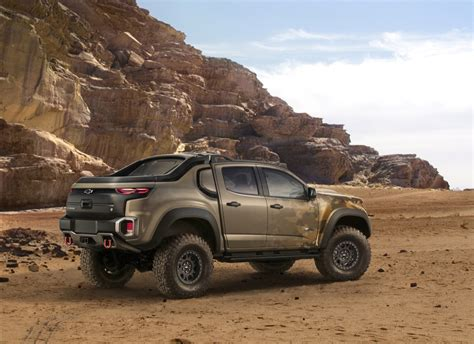 Chevrolet Colorado Zh2 Revealed For Military  Gm Authority