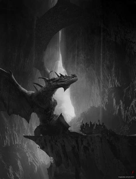 ArtStation - Dragon Cave, Konstantinos Skenteridis