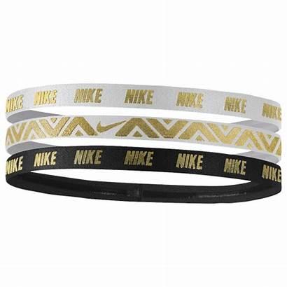 Nike Headbands Pack Metallic Womens