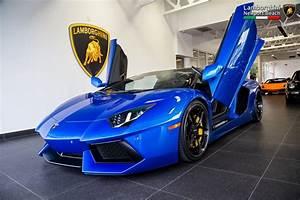 2014 Lamborghini Aventador LP 700-4 Roadster cars blue ...