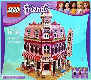 Lego Friends: Lovely Hotel, A Wonderful Cafe Corner (10182