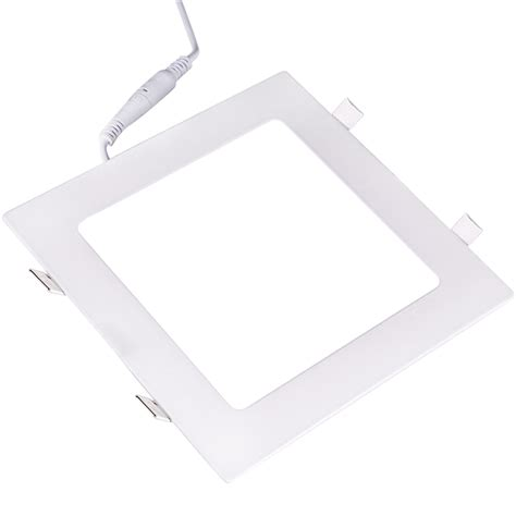 recessed square ceiling led panel light 85 265v downlight