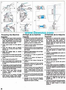 Singer 5508 5528 Sewing Machine Threading Diagram