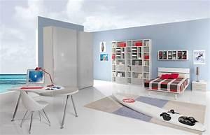 Deco Chambre Garcon 8 Ans : chambre ado garcon design ~ Teatrodelosmanantiales.com Idées de Décoration