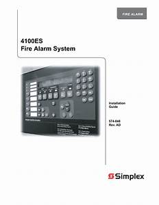 Simplex 4002 Wiring Diagram