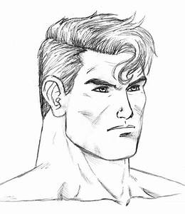Superman face study by Aremke on DeviantArt
