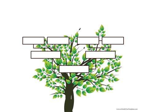 The free versions are available in pdf format: Blank Family Tree Template   Free Instant Download