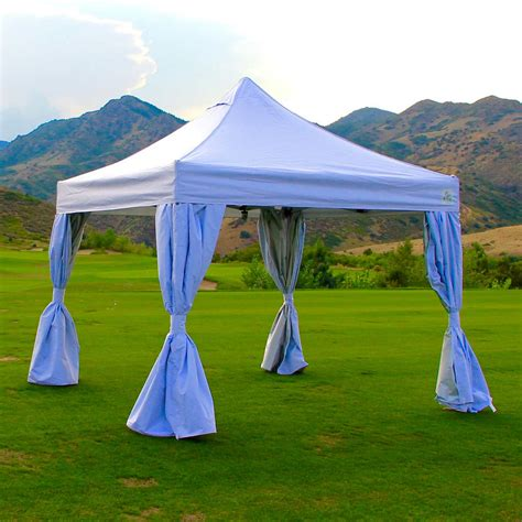 undercover ft  ft commercial grade instant canopy  polyester walls ebay