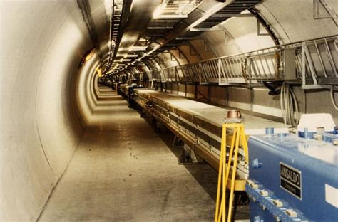 LEP, the Large Electron Positron collider located in the ...