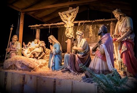 christmas crib scene why you won t see any nativity in this