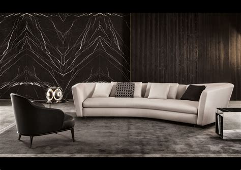 showroom canape minotti retailer galbiati furniture milan