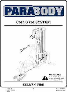 Parabody Cm3 Users Manual 101a