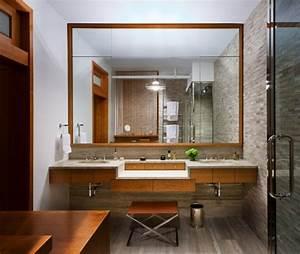 Badgestaltung Mit Pflanzen : badgestaltung ideen mit ziegelw nden f r eine traumhafte atmosph re ~ Markanthonyermac.com Haus und Dekorationen