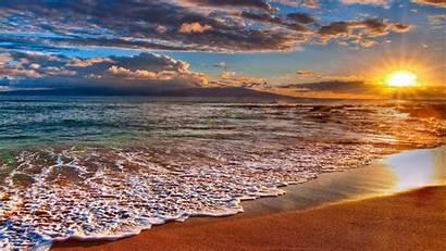 Aesthetic Desktop Sunset Wallpapers Beaches Backgrounds Wallpaperaccess