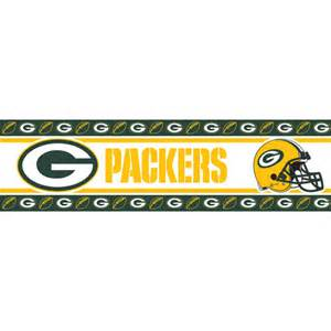 Walmart Crib Bedding Sets by Green Bay Packers Nfl Peel And Stick Wall Border