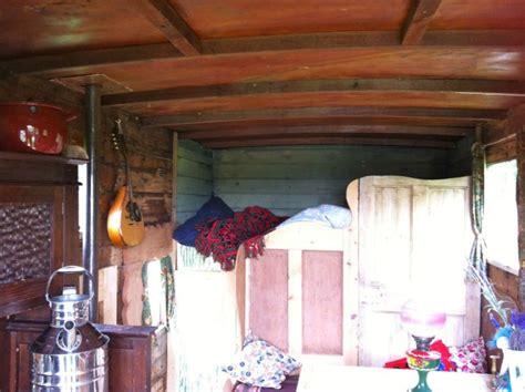 converted bedford tk horsebox wooden body woodburner rustic bespoke interior bespoke