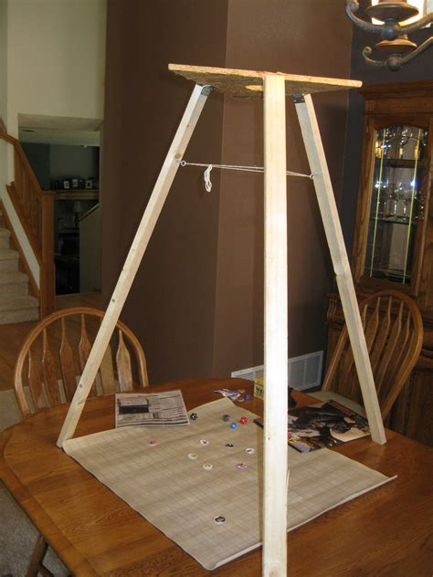 tripod  rpg mapping projector  prototype