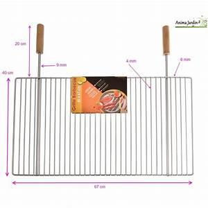 Grille Barbecue 60 X 40 : grande grille barbecue 67 x 40 cm grille simple de ~ Dailycaller-alerts.com Idées de Décoration