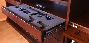 10 Cool Secret Gun Cabinets For Your Home PICS