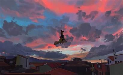 Kiki Delivery Service Ghibli Atey Studio Ghailan