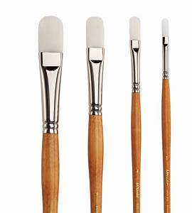 Save On Discount Utrecht Series 300 White Taklon Brush Set ...