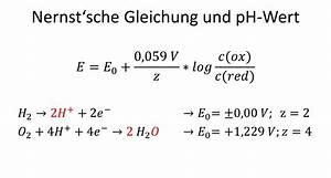 Schwefelsäure Ph Wert Berechnen : illumina zellspannung mittels nernst 39 scher gleichung ~ Themetempest.com Abrechnung