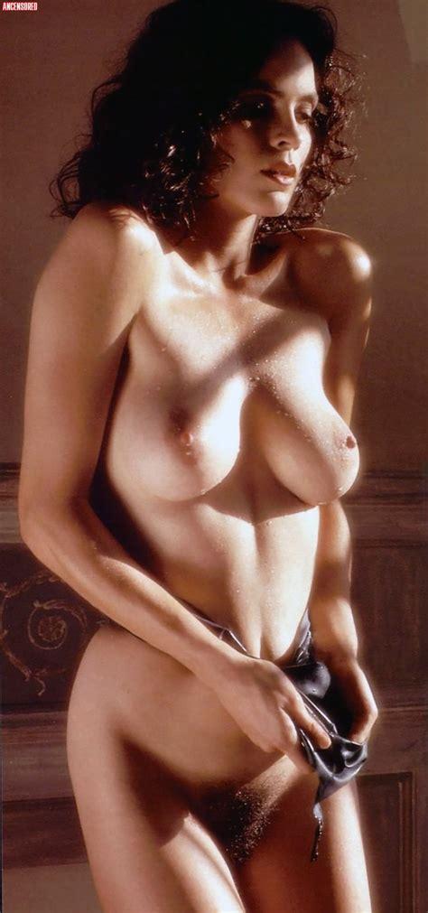 Naked Elizabeth Gracen In Playboy Magazine
