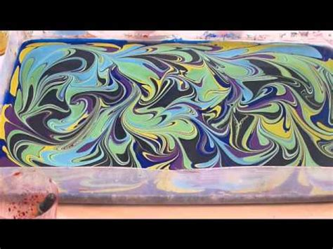 watercolor marbling    youtube