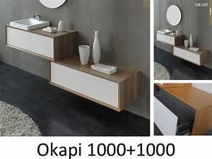 meubles lave mains robinetteries meubles sdb meuble de With meuble caisson salle de bain