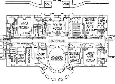 floor plans of the white house ground floor white house museum