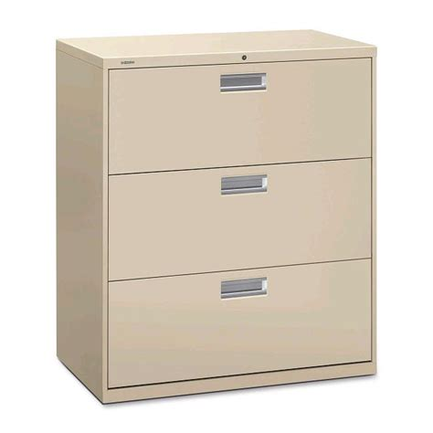 Hon Brigade 600 Series Lateral File Cabinet 3 Drawer 36