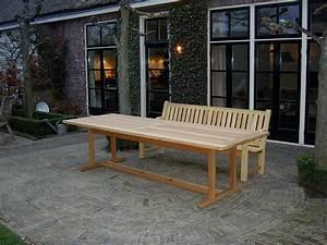 Tischdecke 3 Meter Lang : vondel tuinmeubelen lange tuintafel van hout 300x100cm gemaakt van fsc guariuba hardhout ~ Frokenaadalensverden.com Haus und Dekorationen