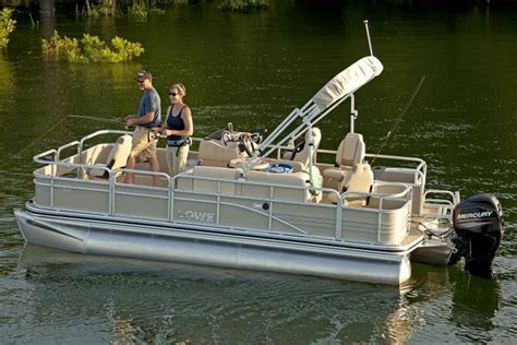Best Pontoon Fishing Boats 2016 by 2016 New Lowe Sf194 Sport Fish Pontoon Boat For Sale