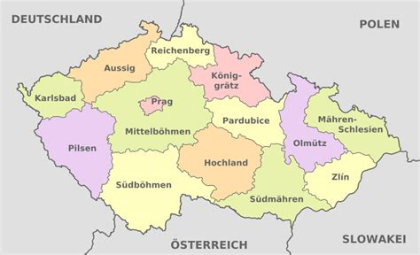 File:Czech Republic, administrative divisions - de+ ...