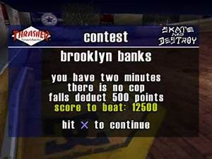 PS1 - Thrasher: Skate and Destroy quick look - YouTube